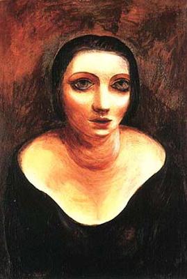 by Moise Kisling, 1922, Alice Prin,  Kiki de Montparnasse