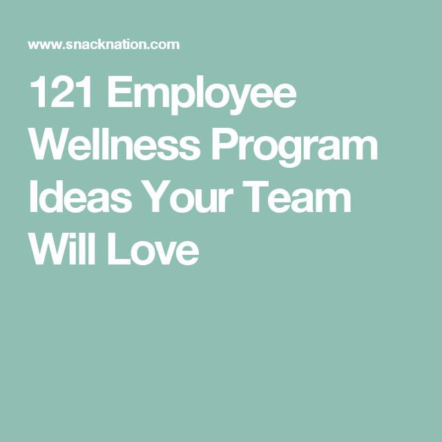 121 employee wellness program ideas your team will love