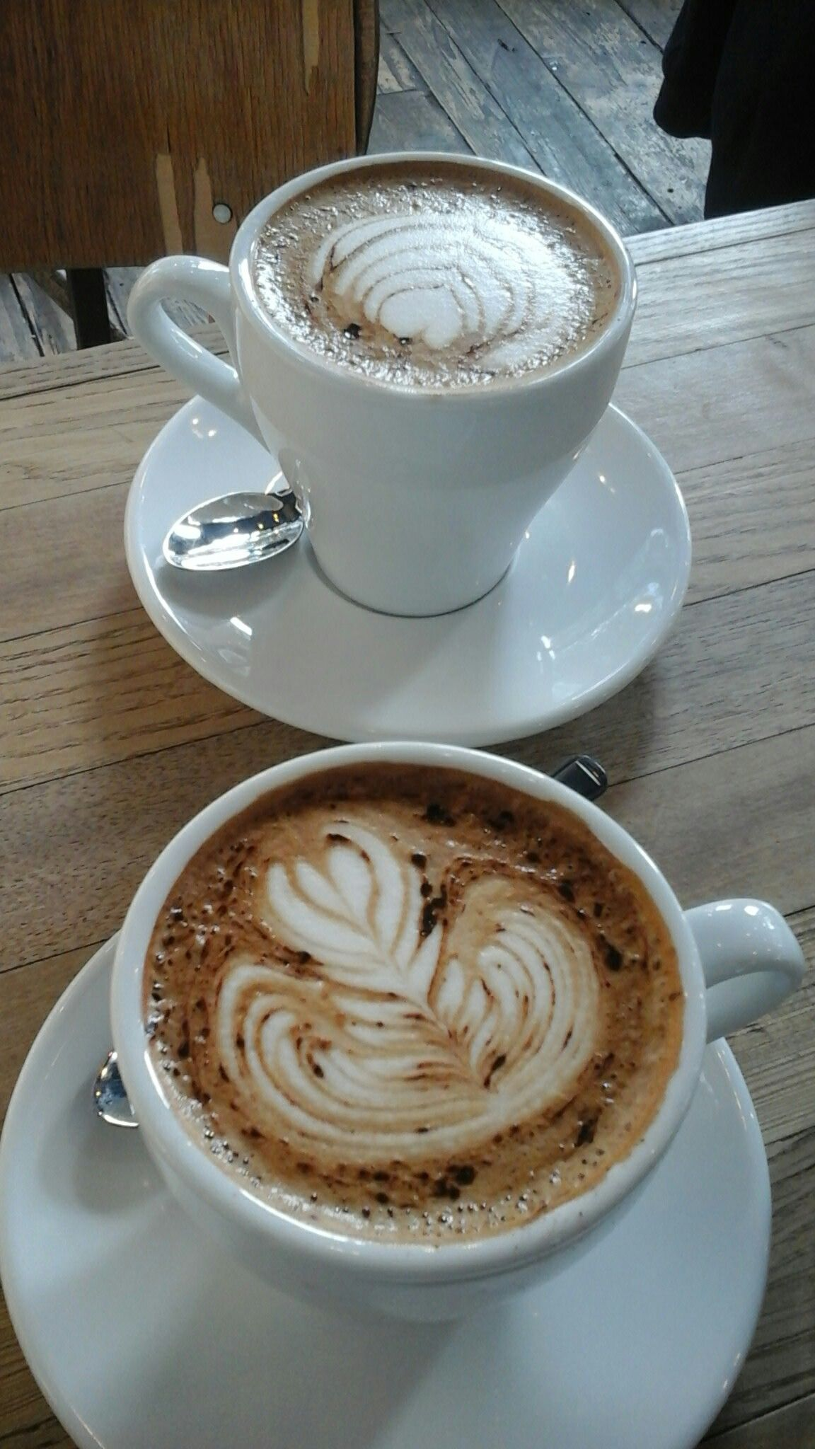 Lack of ideas or places to go to have a decent coffee in