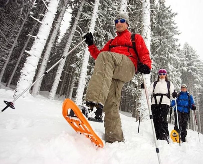 Snowshoeing in Quebec Travel Mindset Snow shoes