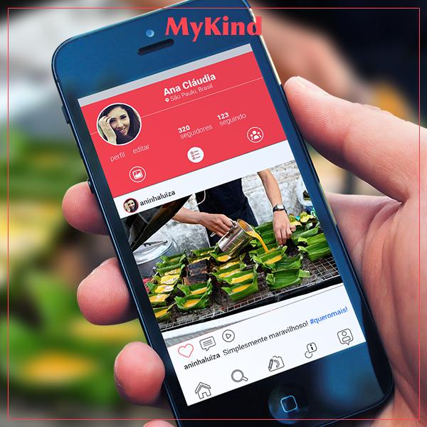 O lançamento será em breve! Com o MyKind você poderá encontrar os seus food trucks favoritos, antecipar seus pedidos, adicionar amigos, enviar mensagens, criar posts, trocar experiências e seguir empreendedores de street food pelo mundo! E isso tudo é FREE! Cadastre-se: www.mykind.com.br