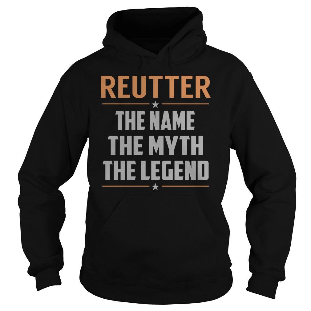 REUTTER The Myth, Legend - Last Name, Surname T-Shirt