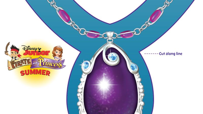 Amulet Disney Junior Disney Junior Sofia The First Coloring Pages