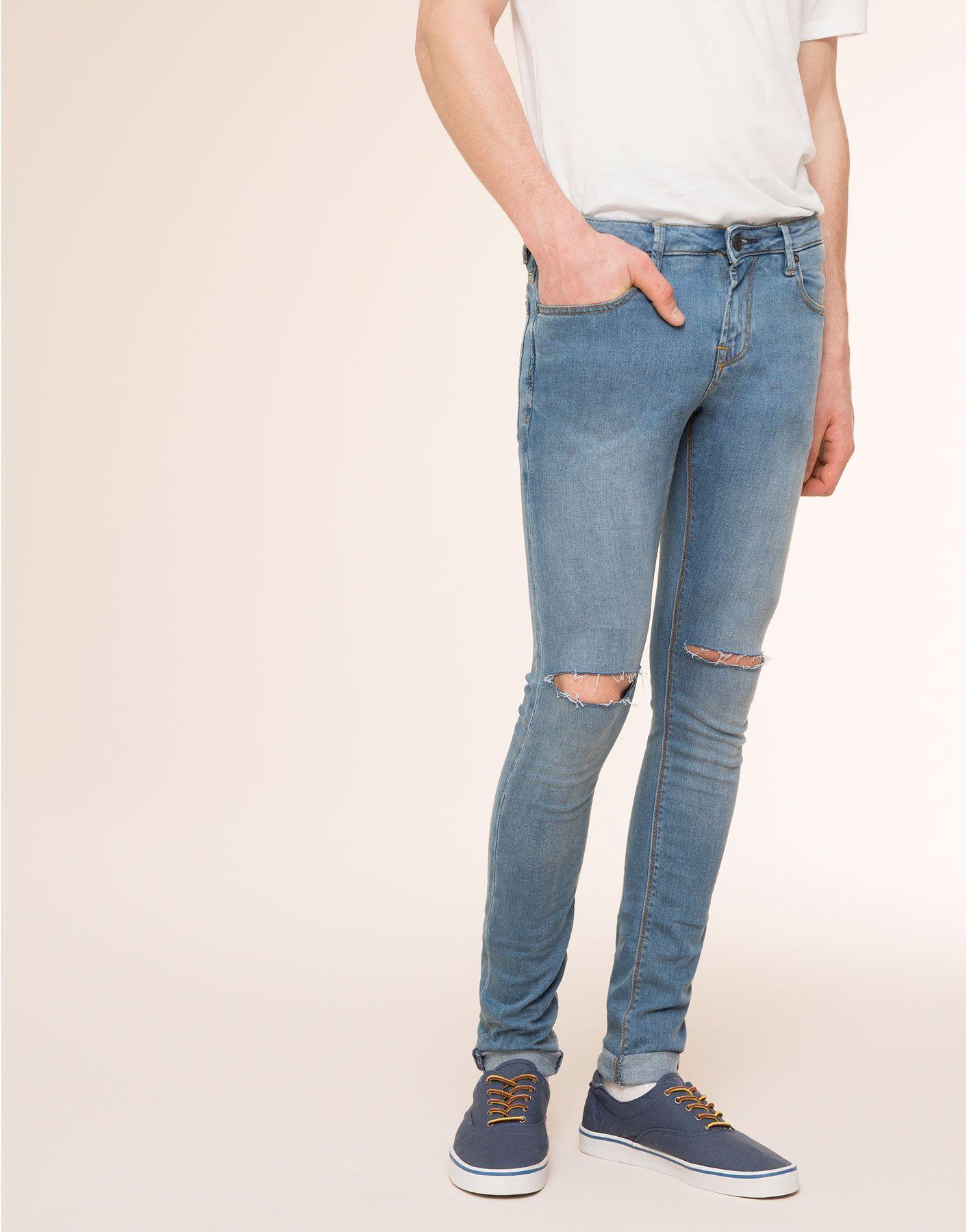 ästhetisches Aussehen neue Liste Qualität und Quantität zugesichert LIGHT FADE SUPER SKINNY FIT JEANS | Hot Pants | Skinny fit ...