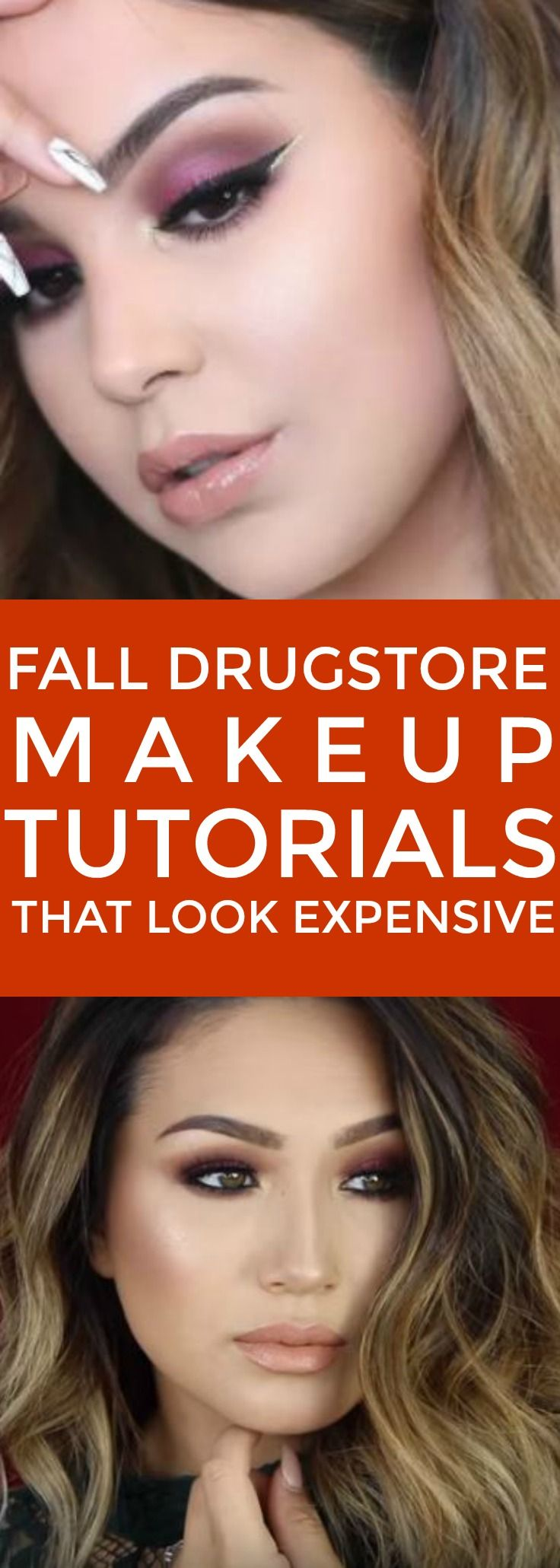 Fall Drugstore Makeup Tutorials That Look High End