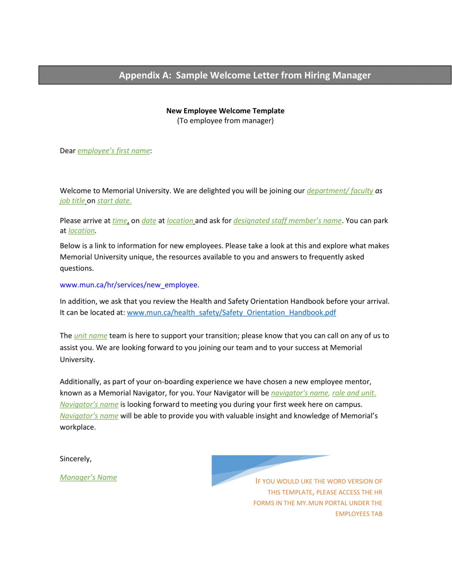 9+ new hire letter examples pdf examples new