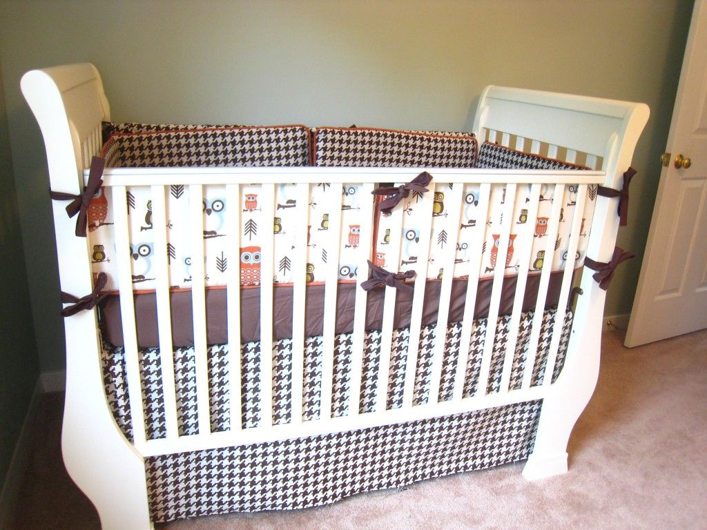 Crib Bumper Pattern Interesting Design Ideas