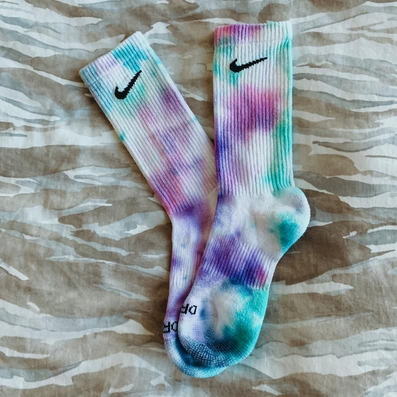 Nike color splash socks 3 Pack made to order tie dye nike