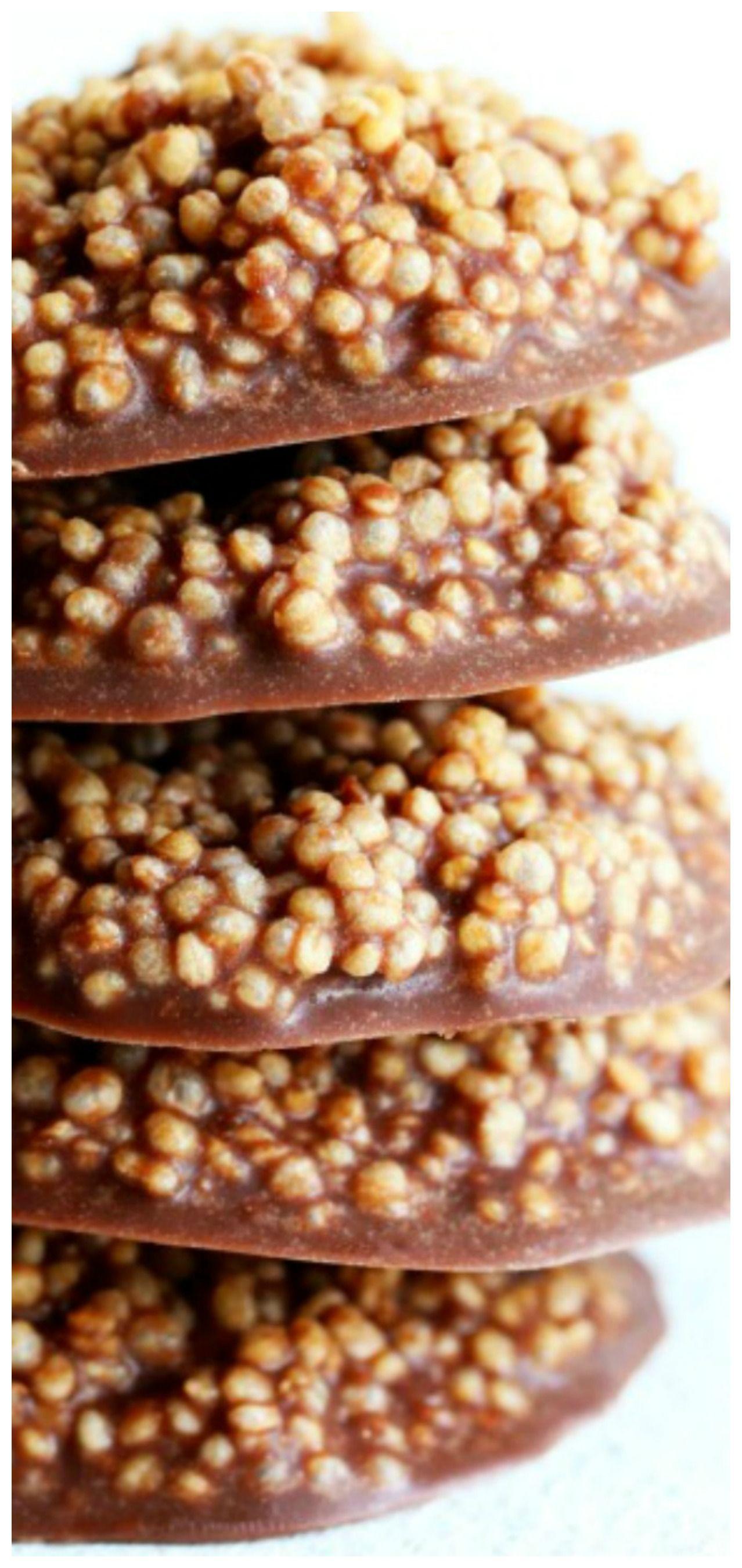 Photo of Chocolate Quinoa Crisps