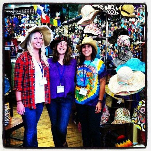 Bangor crew living large in summer hats!