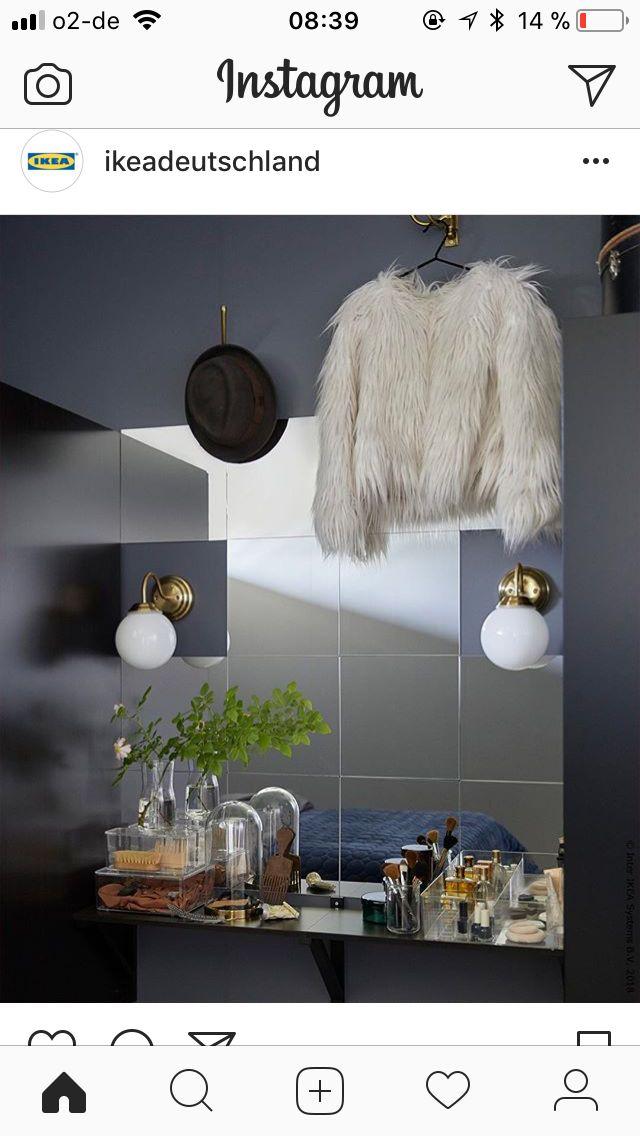 Traumhaus von Anke Wellner | Schlafzimmer wandspiegel ...