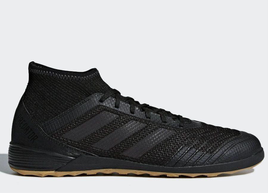 football  soccer  futbol  futsal Adidas Predator Tango 18.3 IN Nite  Crawler - Core Black   Core Black   Real Coral d1b5e6804a1e1