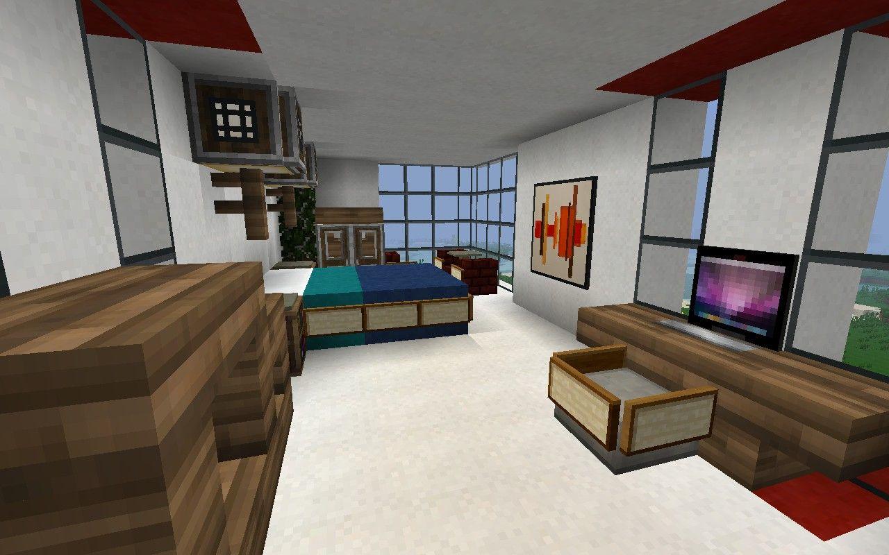 MCF | Modern room, Modern bedroom, Minecraft modern