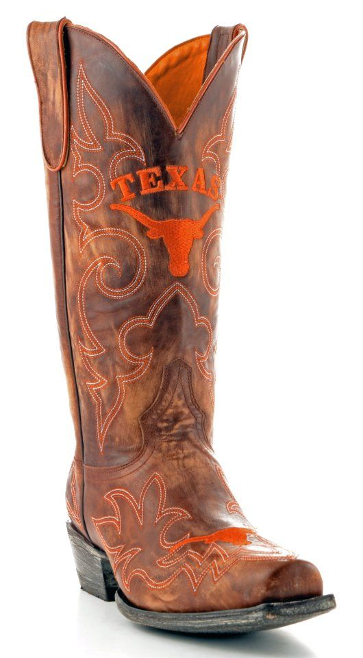 It's never too early to start planning your tailgating attire... (available at Allen's Boots)