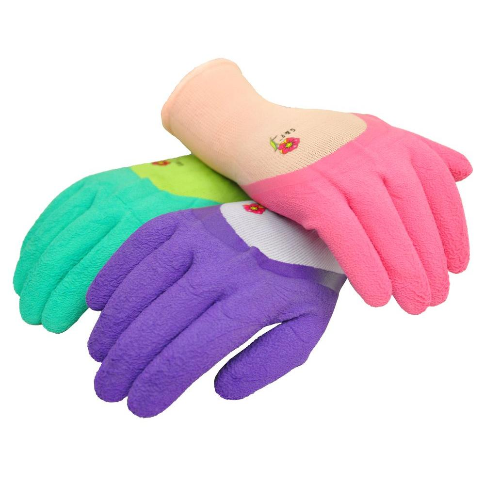 G F Products 2030 Women Garden Gloves With Micro Foam Nitrile