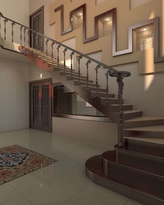Turning Stairs Designed By Pakistan S Leading Architectural Design