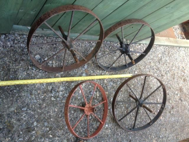 Antique Steel Wheel Barrow Amp Implement Wheels For Sale At