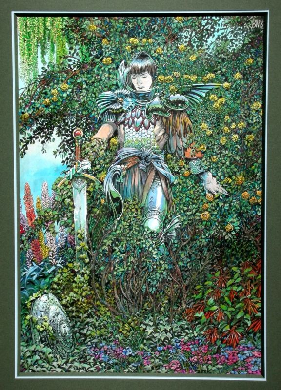 Beguiled by Barry Windsor-Smith