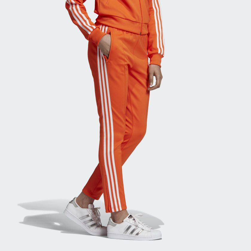adidas ensemble orange femme