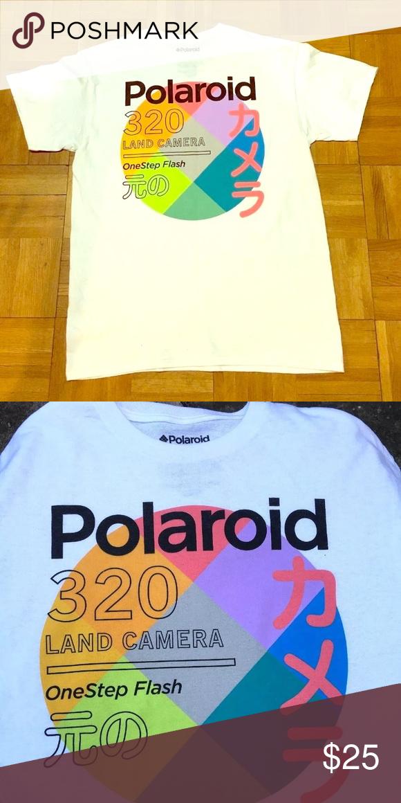 590345c75b304 Polaroid' Originals T-shirt Japanese Retro! New! DESCRIPTION ...