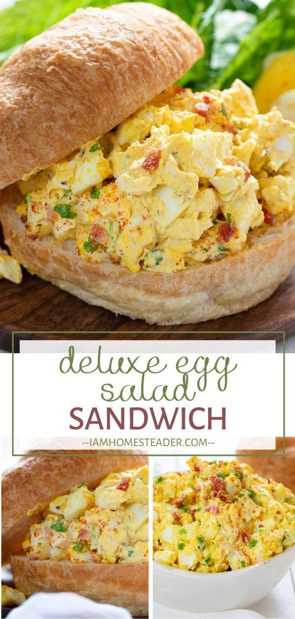 Deluxe Egg Salad Sandwich