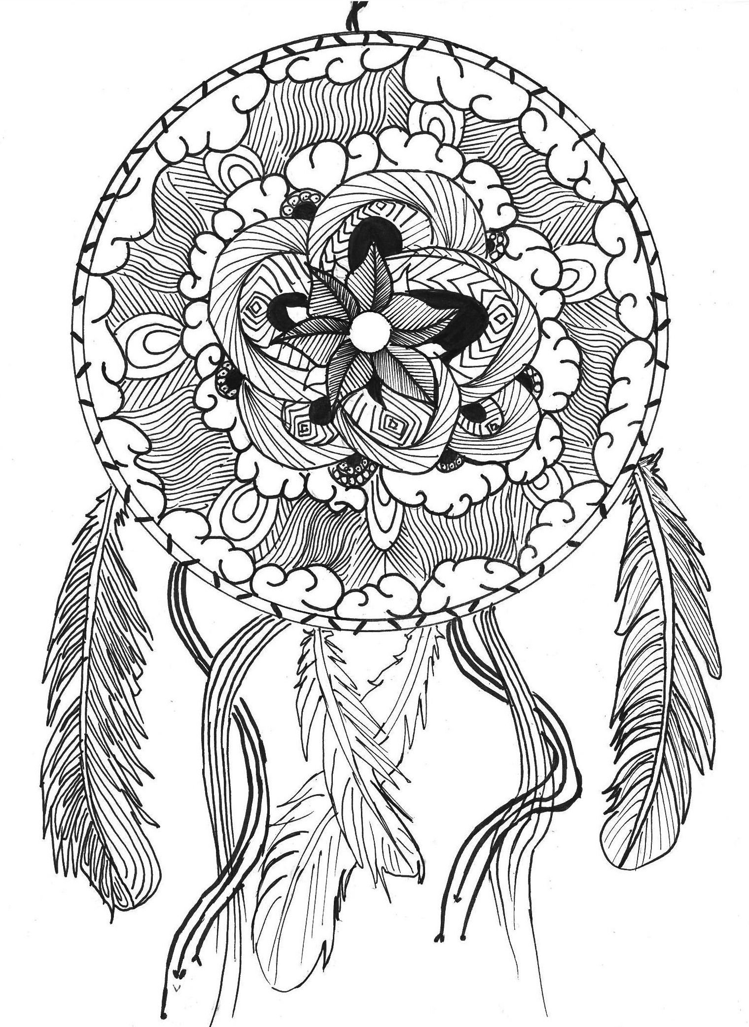 Pin von ColoringsWorld.com auf Mandala Coloring Pages | Pinterest