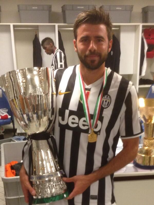 Image result for barzagli trophy