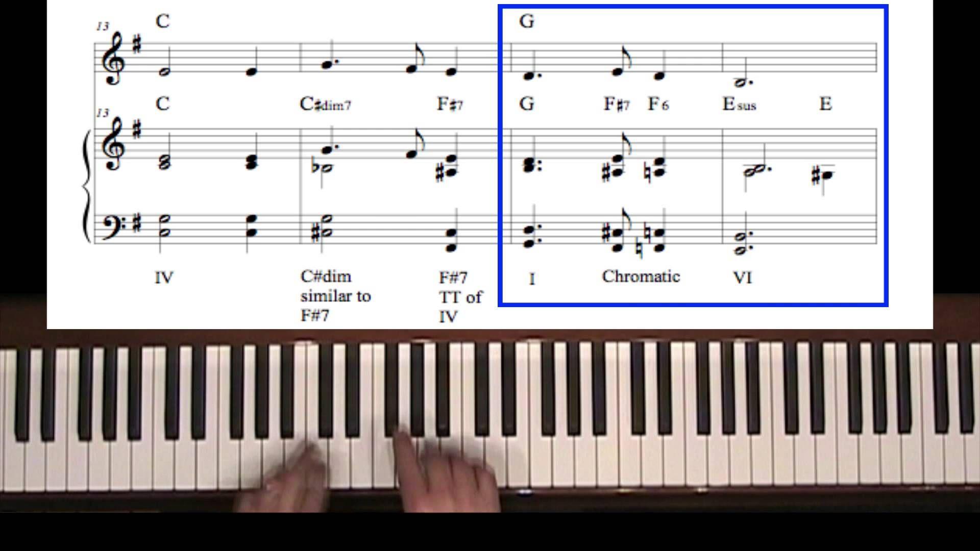 Silent night reharmonization chord substitution piano silent night reharmonization chord substitution hexwebz Choice Image