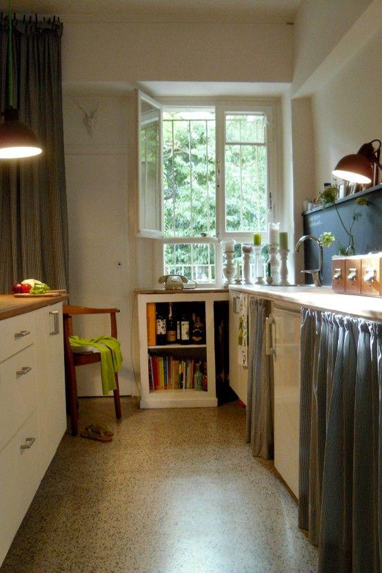Hässliche Küche küche auf prinzessböhnchen i holzstuhl cawit i terrazzo i
