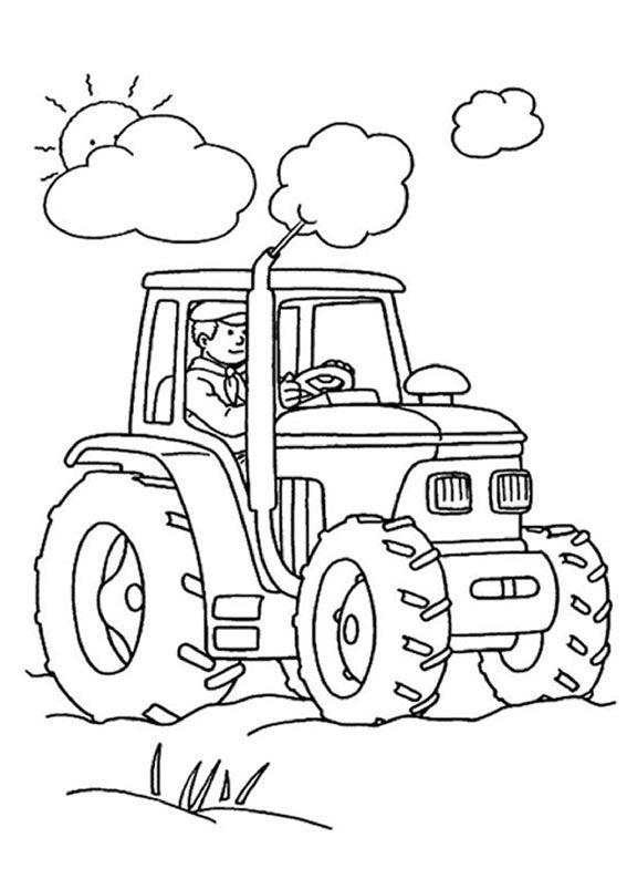 Disegno Trattore Da Colorare.21 Disegni Di Trattori Da Stampare E Colorare Disegni Da Colorare Per Bambini Pagine Da Colorare Per Adulti Trattori
