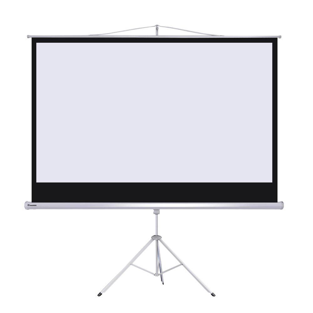 Instahibit 92inches Diagonal 16 9 Projection Screen 67 Quot X 118 Quot Foldable Tripod Sta Screen Stands Portable Projector Screen Pull Down Projector Screen