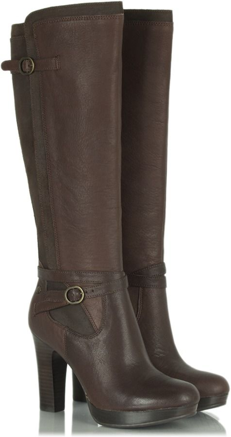 5c4c4858304 UGG Java Linde Women's Leather Knee High Boot on shopstyle.co.uk ...
