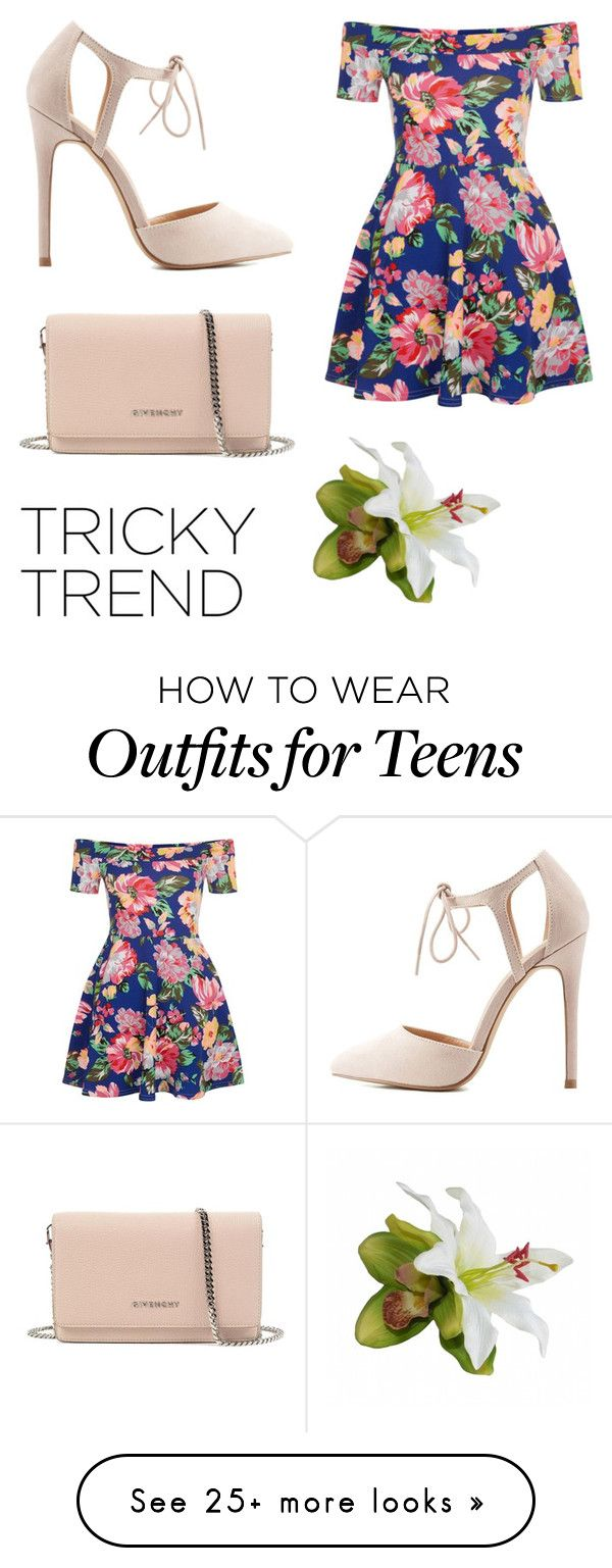 """""""Sin título #260"""" by fatimamg on Polyvore featuring New Look, Charlotte Russe…"""