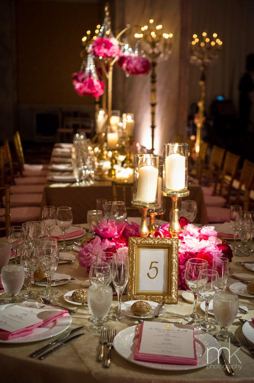 Gold Centerpieces Wedding Reception | http://simpleweddingstuff ...