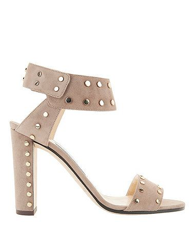 5c9f4cba029 Shop the Jimmy Choo Veto Studded Suede Sandals   other designer styles at  IntermixOnline.com. Free shipping  150.