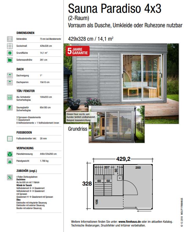 Wolff Finnhaus Gartensauna Saunahaus Sauna Paradiso 4x3 2 Raum Design Saunahaus In 2021 Saunahaus Gartensauna Vorraum