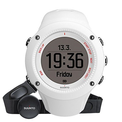 7da5593d66b Suunto Ambit3 Run GPS Watch White w Heart Rate Monitor For Sale https