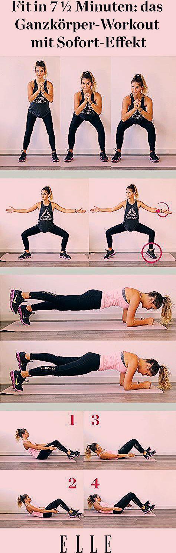 Photo of 7 ½ Minuten-Workout: das Ganzkörper-Workout mit Sofort-Effekt