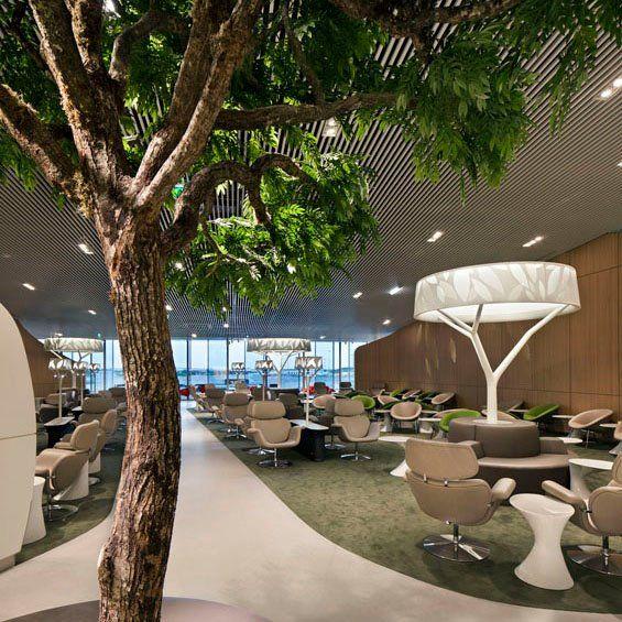 Salon VIP (Business Lounge) Air France (Paris CDG) by Brandimage et Noé Duchaufour-Lawrance