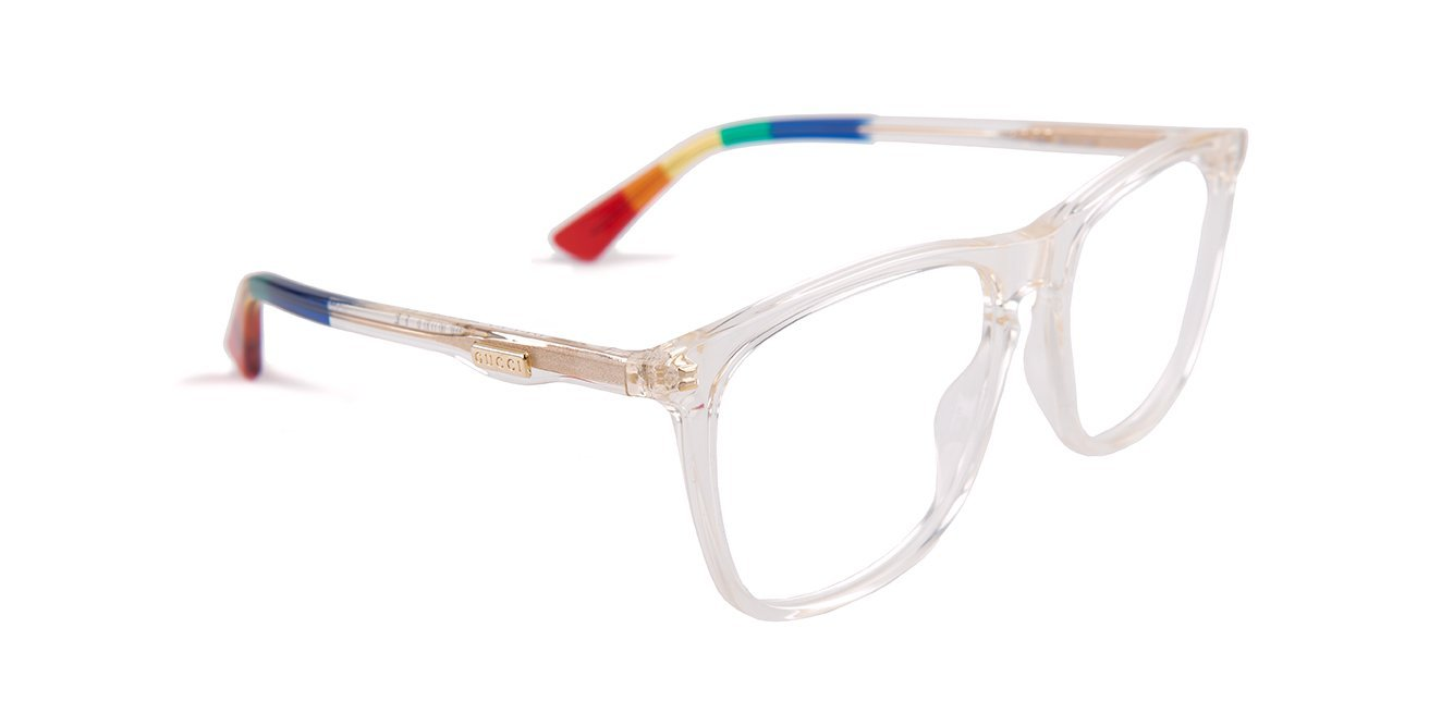 55d5b4bf7c5 Gucci - GG0332O Clear Yellow-eyeglasses-Designer Eyes
