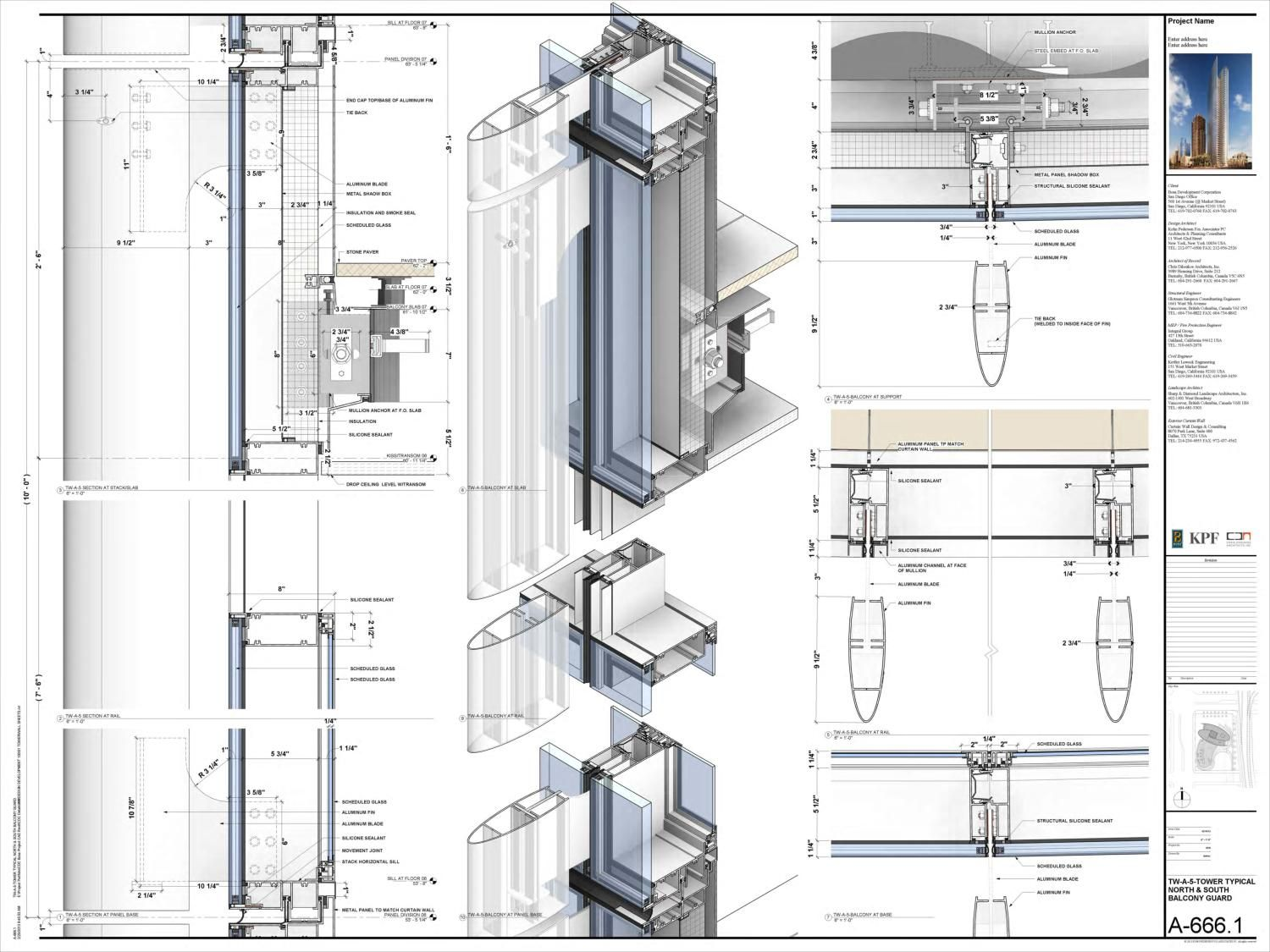 Nathaniel richards revit sample | shop drawing | Presentation layout