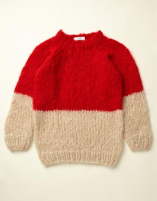 a811c7555cffb deargemma  (via Mohair Half Stripe Sweater - You Must Create ...