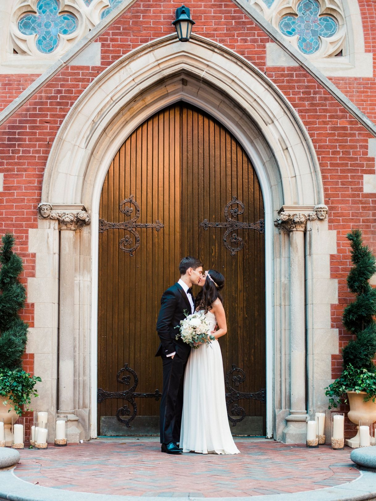 Alexa And James Wedding At The Georgetown University Chapel Woodend In Washington DC By