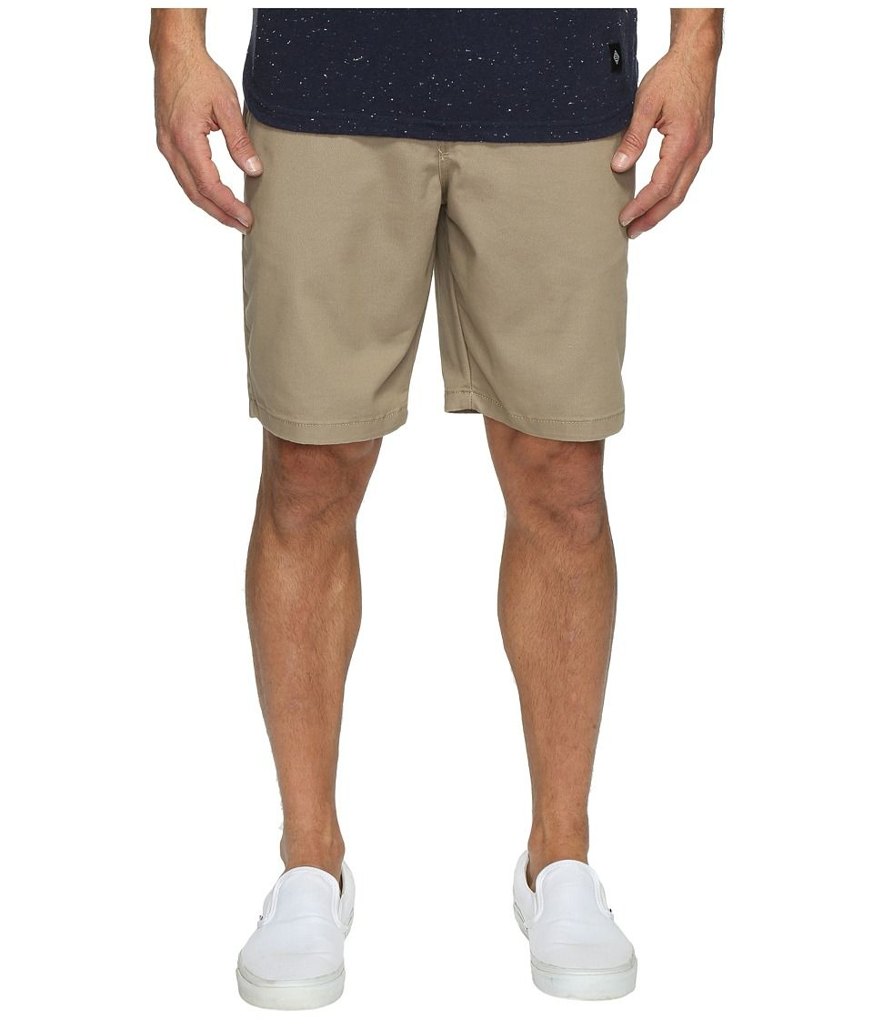 371d00c798 VANS VANS - AUTHENTIC STRETCH SHORTS 20 (MILITARY KHAKI) MEN S SHORTS.  vans   cloth