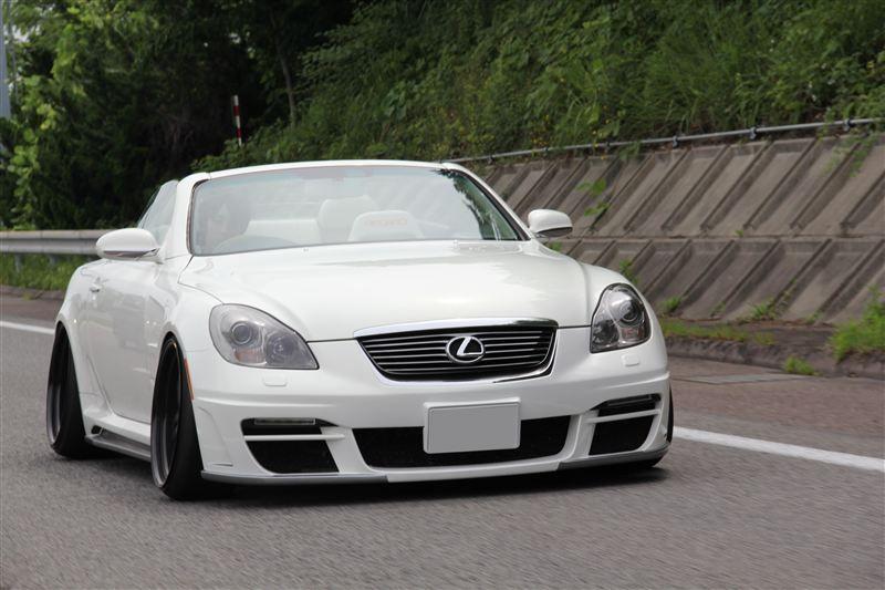 Lexus SC430, 3UZ FE, Japońskie Cabrio, Tuning, Fotki