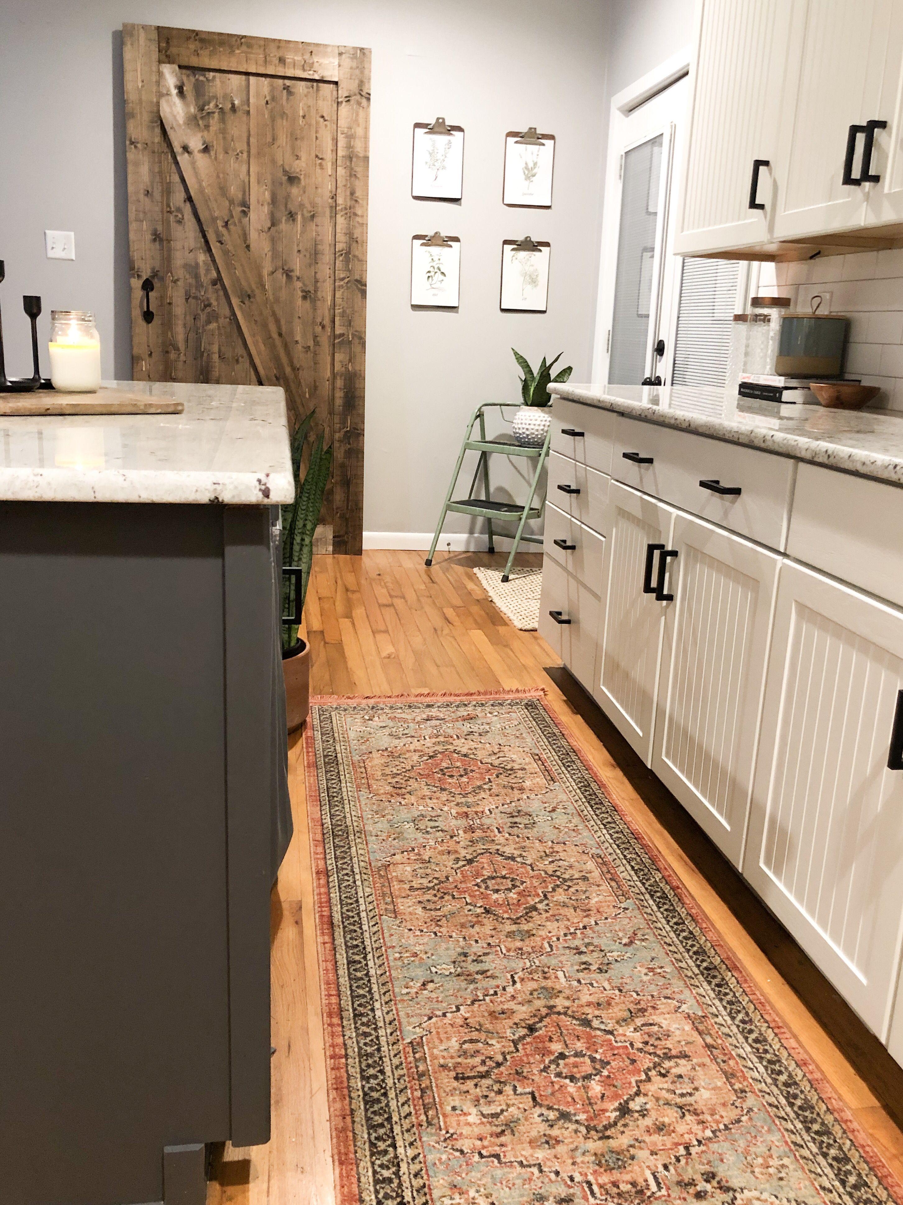 A Little Modern A Little Farmhouse A Little Boho Rug Runner Kitchen Kitchen Runner Farmhouse Kitchen Decor