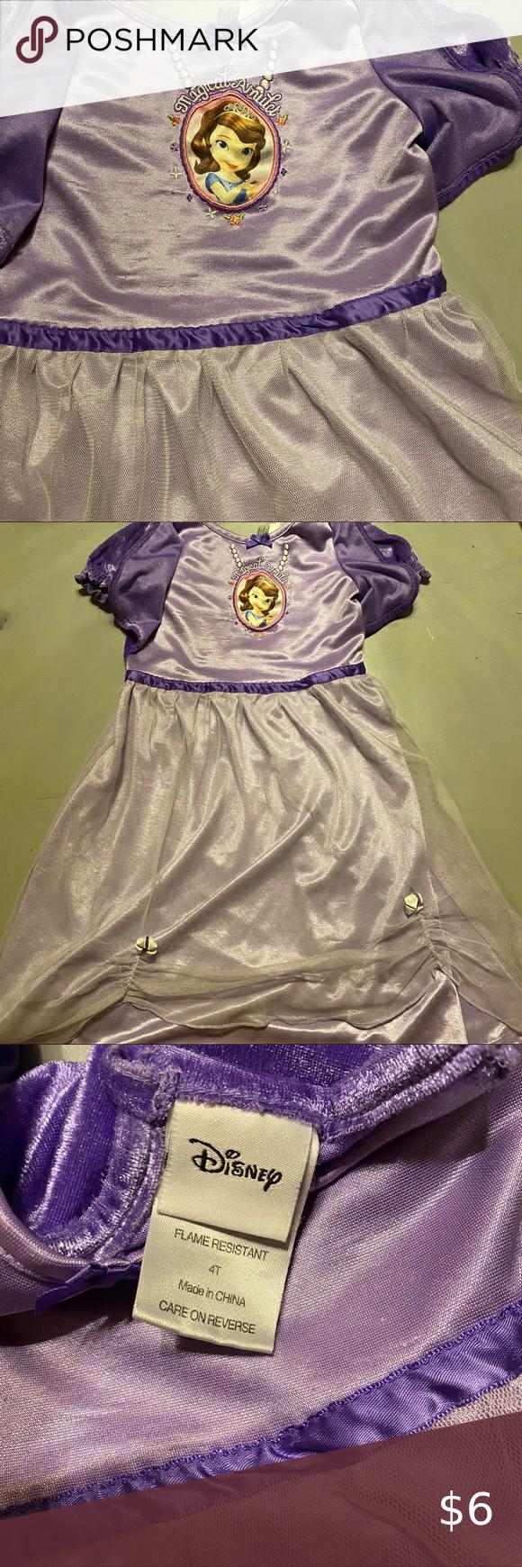 Purple Disney Sophia Dress Dress Up Disney Princess Sophia Size 4t Purple Dress Dress Up Disney Dresses Casual Sophia Dress Disney Dresses Clothes Design [ 1740 x 580 Pixel ]