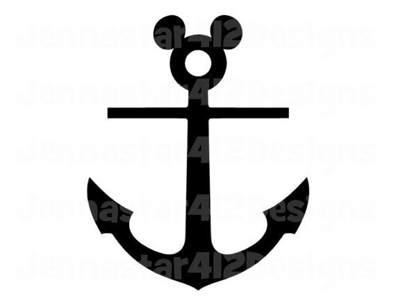 image about Mickey Anchor Printable named Boys Matching shirts? Disney Motivated Mickey Cruise Anchor