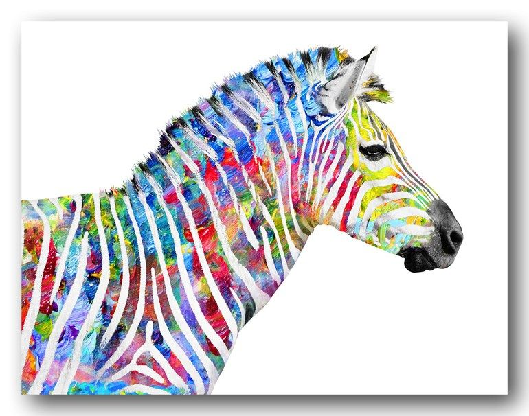 Interior wall art canvas print wall decor animal art my interior wall art canvas print wall decor animal art my spotted rainbow canvas print wall art art pinterest interior walls wall decor and altavistaventures Images
