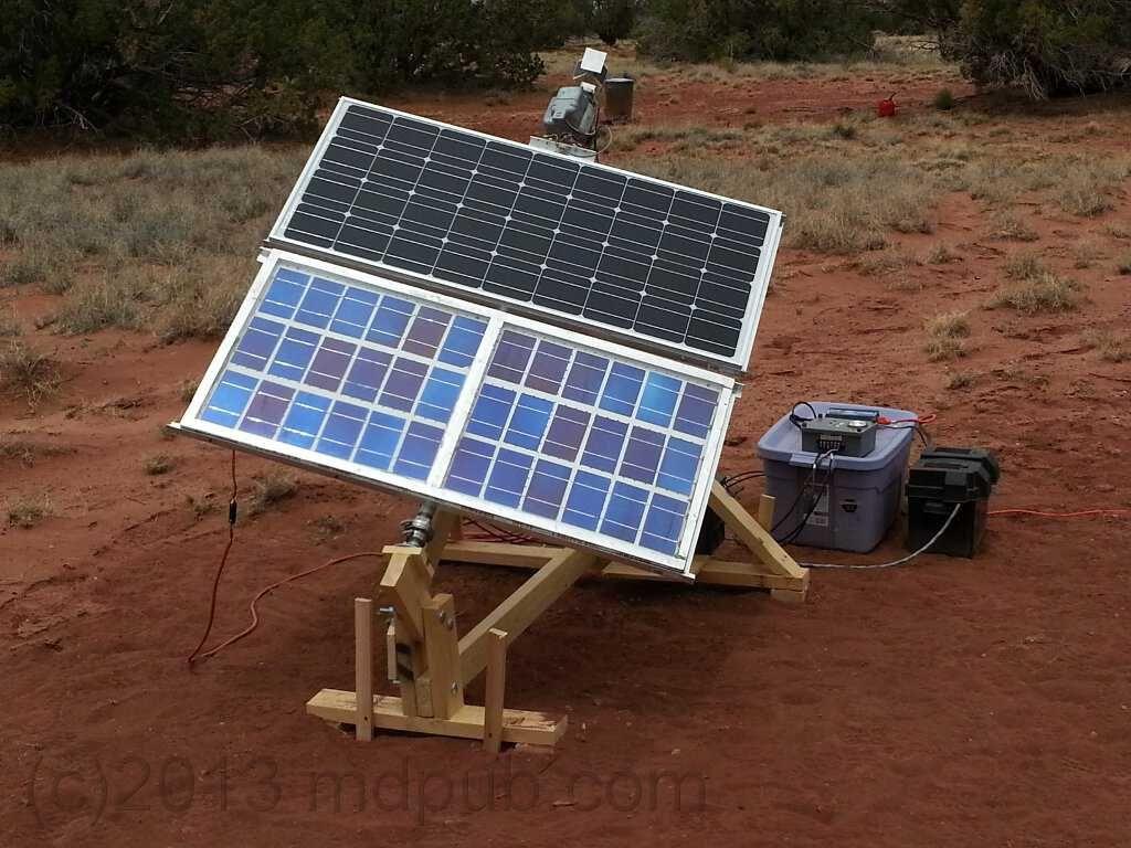 My Home Built Solar Panel Tracker Set Up And Working How I Built A Motorized Sun Tracker For Paneles Solares Instalacion De Paneles Solares Calefaccion Solar